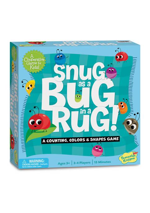 Snug as a Bug in a Rug Kids Game