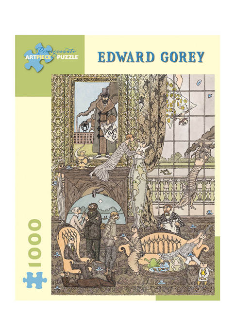Edward Gorey - Frawgge Manufacturing Co. Puzzle: 1000 Pieces