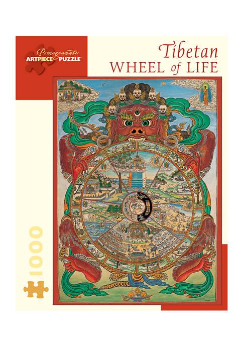 Pomegranate Communications, Inc. Tibetan Wheel of Life Puzzle: