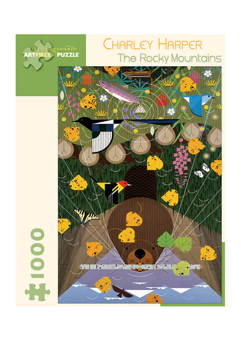 Charley Harper The Rocky Mountains Puzzle: 1000 Pieces