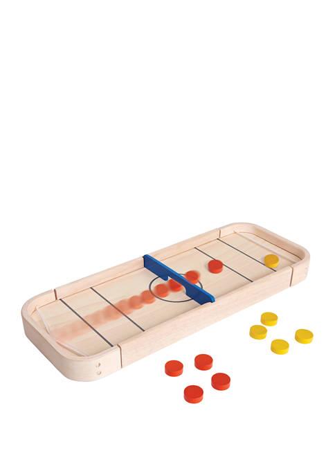 Plan Toys 2-in-1 Shuffleboard Game Skill Game