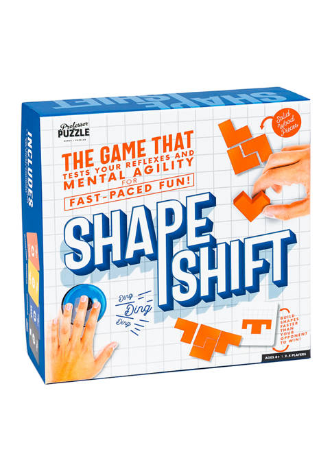 Professor Puzzle Shape Shift Family Game