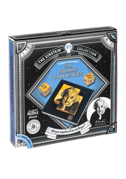 Professor Puzzle Albert Einsteins Six Square Challenges
