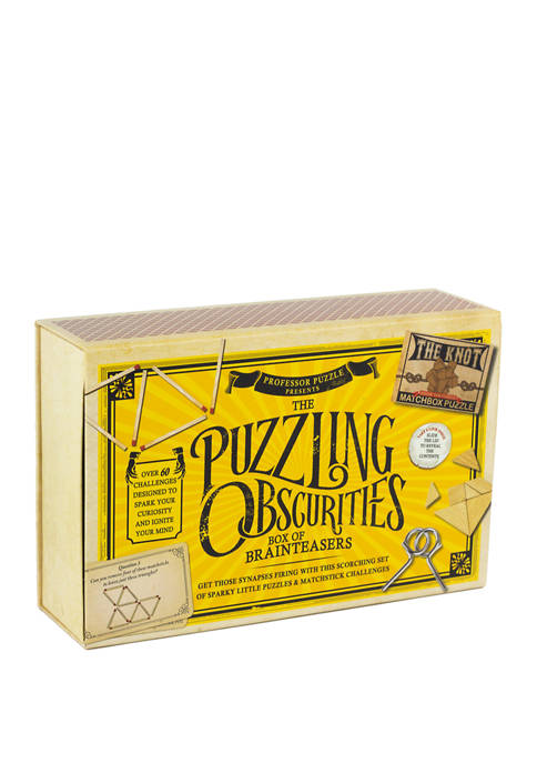 The Puzzling Obscurities Box of Brainteasers