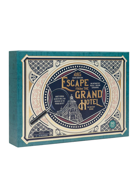Professor Puzzle Escape from the Grand Hotel Party