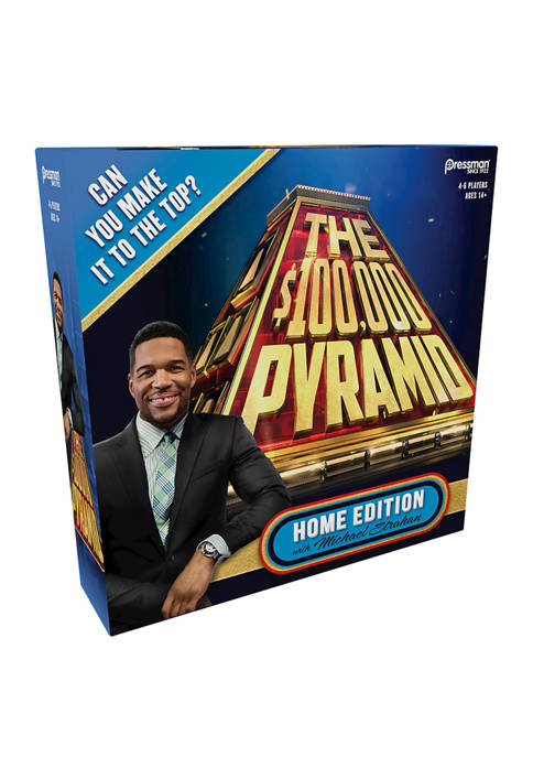 The $100,000 Pyramid Home Edition with Michael Strahan