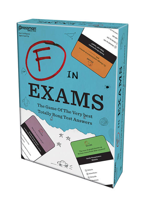 Pressman Toy F In Exams Game
