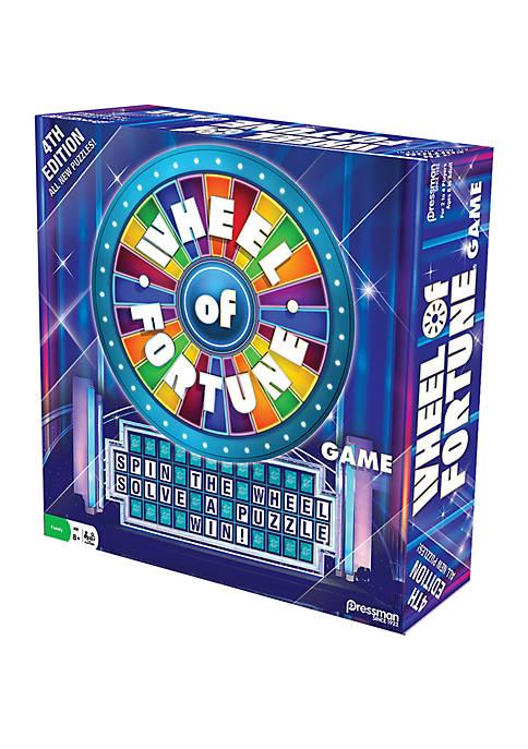 Pressman Toy Wheel of Fortune Game 4th Edition