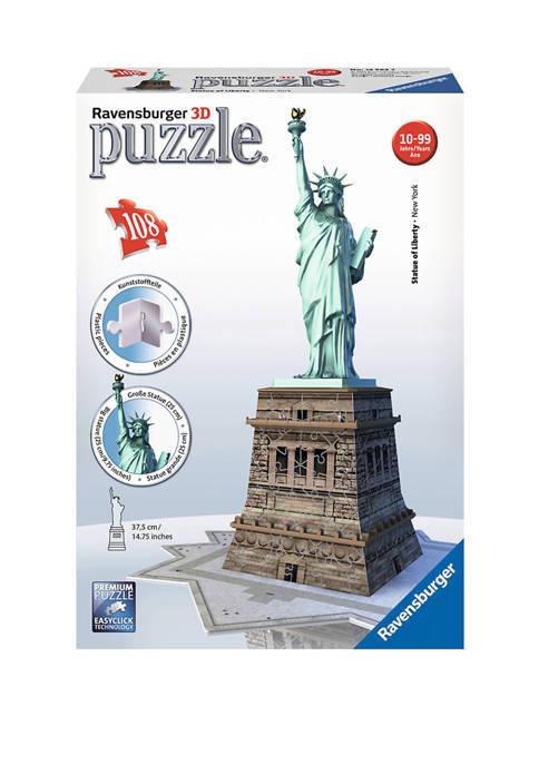3D Puzzle - Statue of Liberty: 108 Pcs