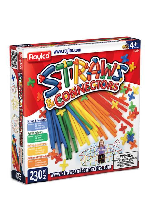 Straws & Connectors - 230 Piece Construction Set