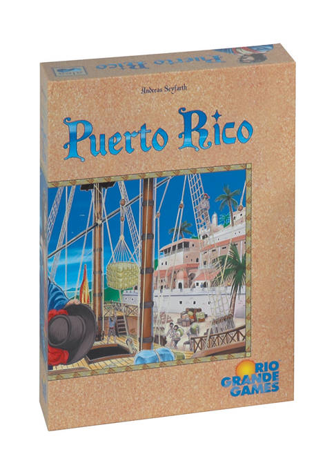 Puerto Rico Strategy Game