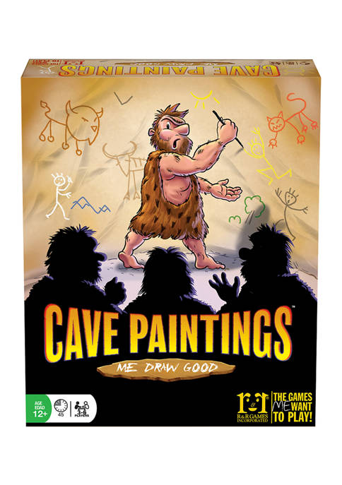 R&R Games Cave Paintings Adult Party Game