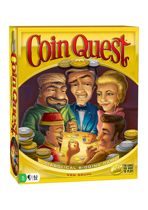 R&R Games Coin Quest Strategy Game
