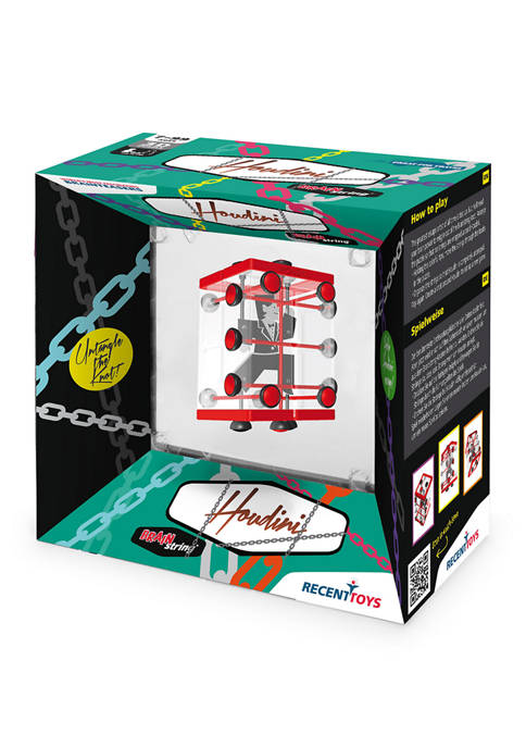 Recent Toys Brainstring Houdini Brain Teaser Puzzle