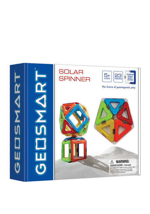 GeoSmart Solar Spinner: 23 Pieces