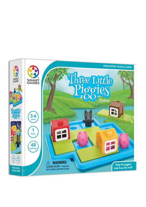 Three Little Piggies - Deluxe Brain Teaser Puzzle