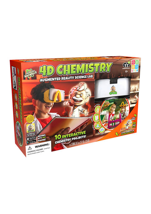 SpiceBox Professor Maxwells 4D Chemistry Science Kit