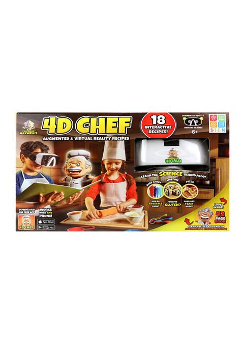 SpiceBox Professor Maxwells 4D Chef Science Kit