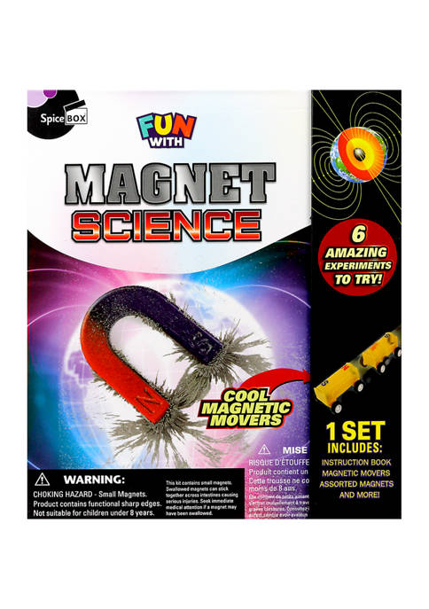 SpiceBox Fun with Magnet Science Kit