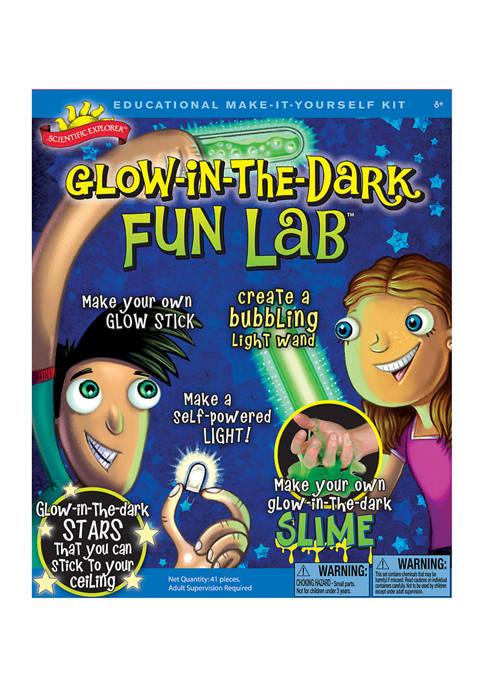 Scientific Explorer Glow-in-the-Dark Fun Lab Science Kit
