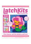 LatchKits Mermaid Mini Rug Craft Kit