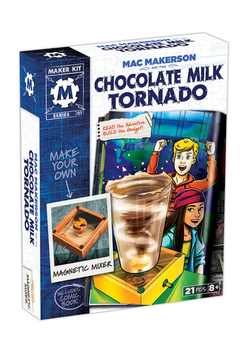 Mac Makerson and the Chocolate Milk Tornado Science Kit