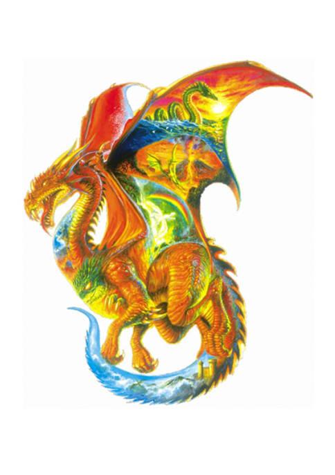 Dragon Dreams Shaped Puzzle: 1000 Pieces