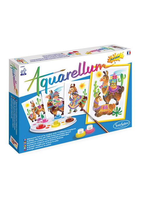 Aquarellum Junior Craft Kit - Lamas