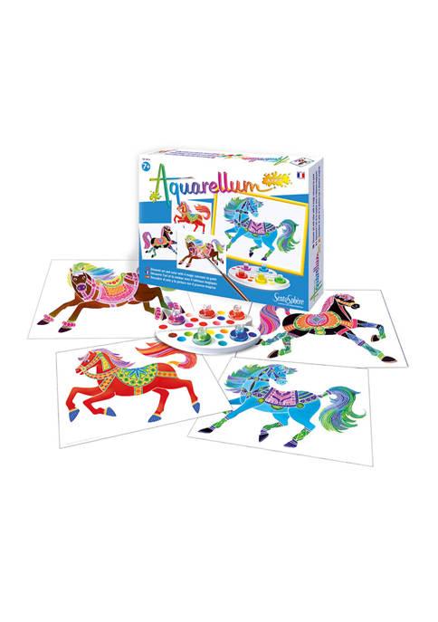 Aquarellum Junior Craft Kit - Horses