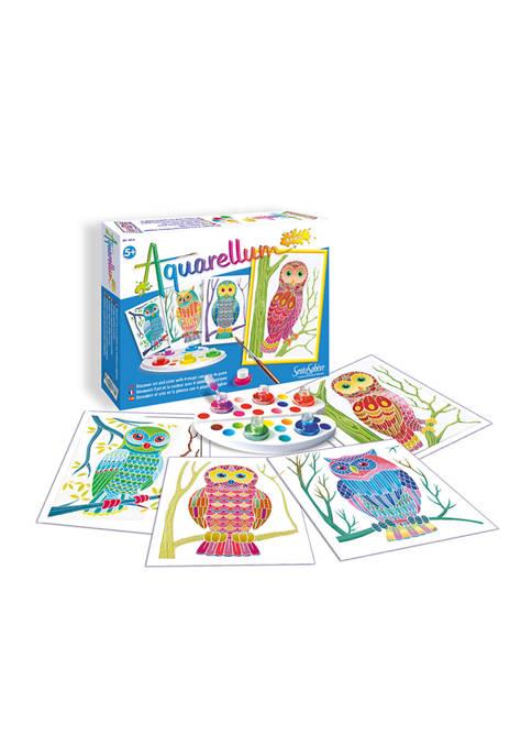 Aquarellum Junior Craft Kit - Owls