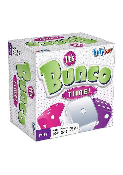 Its Bunco Time! Party Game