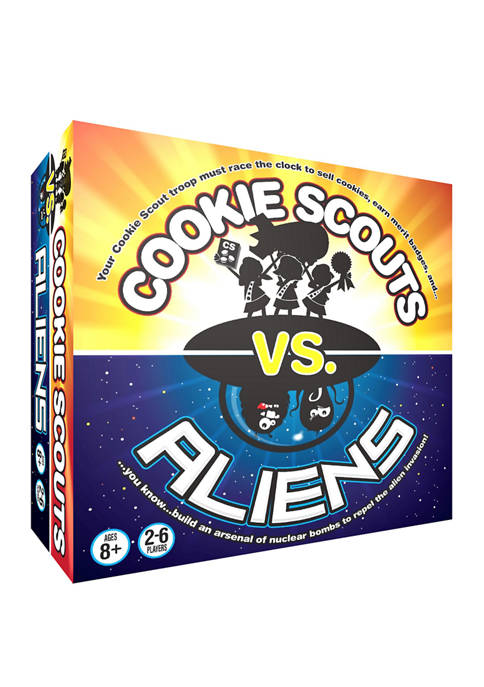 Cookie Scouts vs Aliens Family Game
