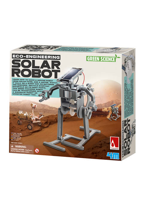 4M Green Science Eco Engineering Solar Robot Science
