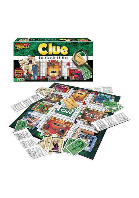 Clue Classic Edition Family Game