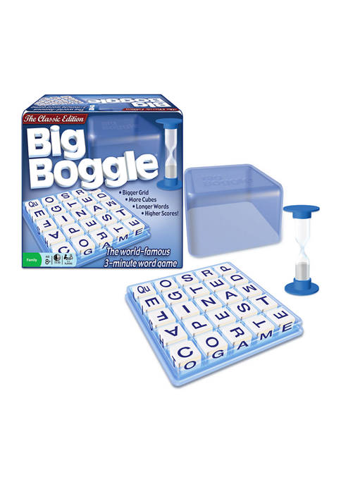 Big Boggle Word Game