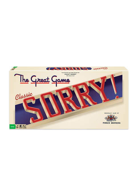 Classic Sorry Family Game