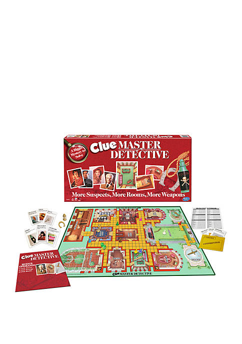 Clue - Master Detective Family Game