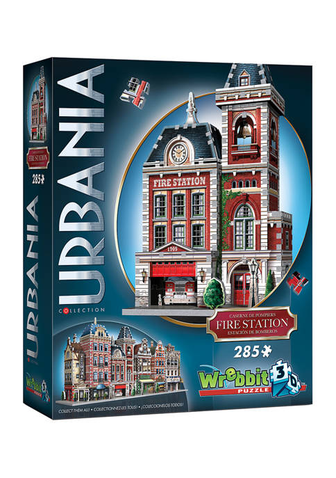 Urbania Collection - Fire Station 3D Puzzle: 285 Pieces