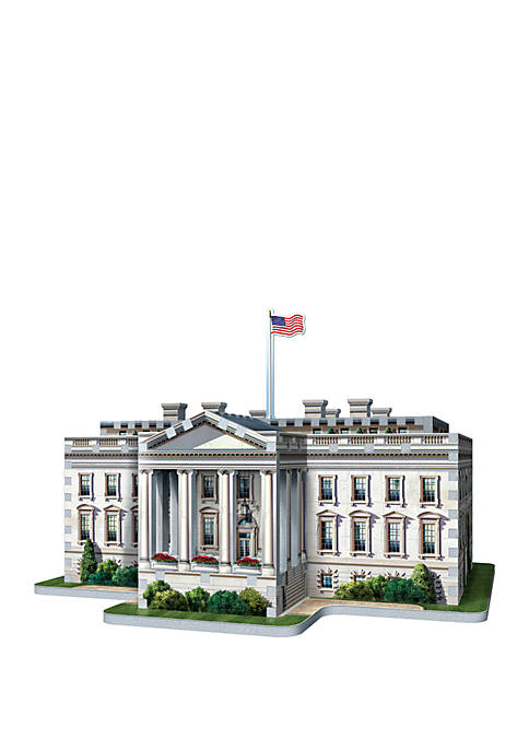Wrebbit 490 Piece The White House 3D Puzzle