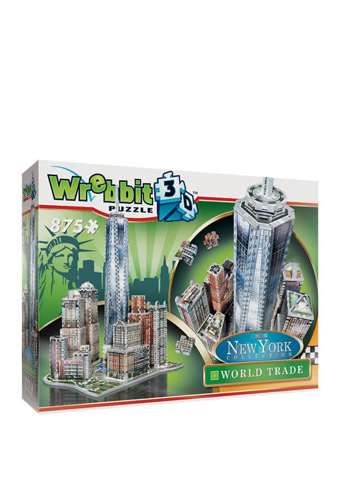 New York Collection - World Trade 3D Puzzle: 875 Pieces