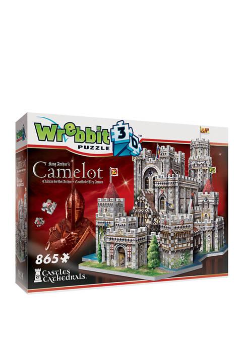 King Arthurs Camelot 3D Puzzle: 865 Pieces