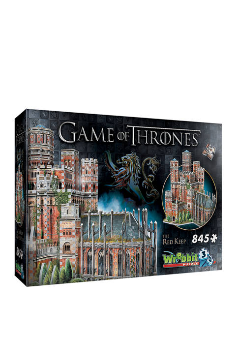 Game of Thrones - The Red Keep 3D Puzzle: 845 Pieces