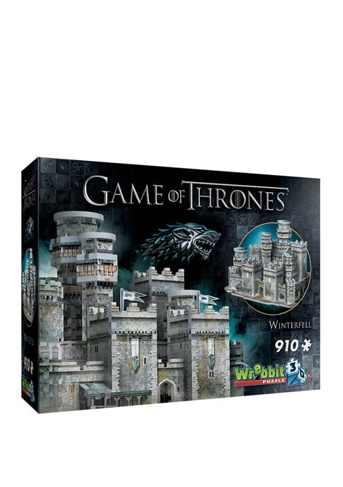 Wrebbit 910 Piece Game of Thrones Winterfell 3D
