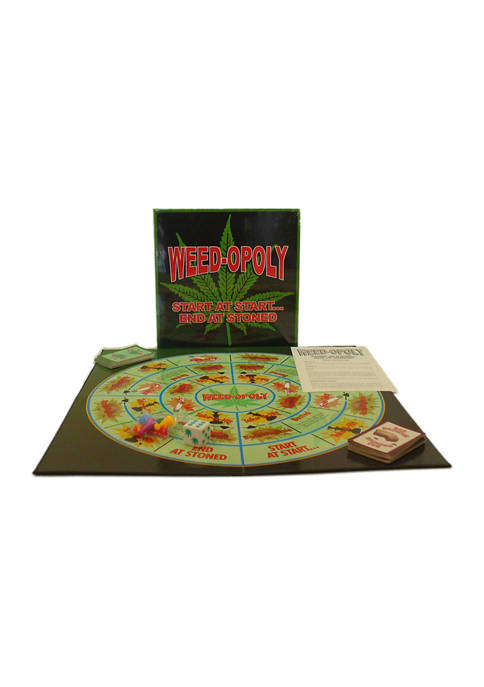 Play All Day Games Weed-opoly Game