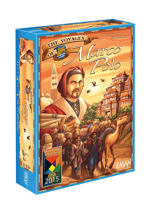 The Voyages of Marco Polo Strategy Game