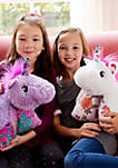 Colorful Lavender Unicorn Stuffed Animal Plush Toy