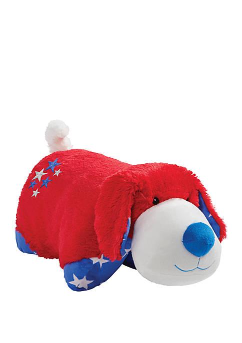 Pillow Pets Americana Puppy Plush Stuffed Animal Toy