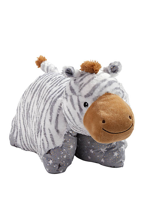 Pillow Pets Naturally Comfy Zebra Stuffed Animal Plush