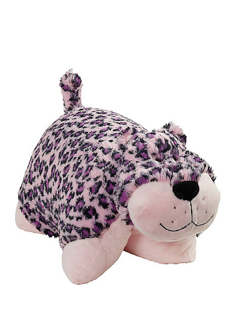Jumboz Lulu Leopard Oversized Stuffed Animal Plush Toy