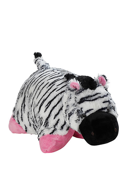 Pillow Pets Jumboz Zippity Zebra Oversized Stuffed Animal